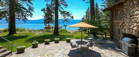 lake tahoe cabin rental lake tahoe lakefront rentals superior cabin rental in