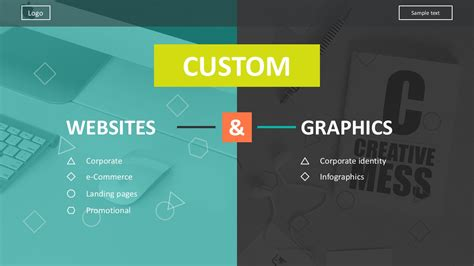 Flat Design Icons Website Development Template Website Presentation Template
