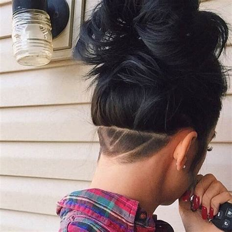 woman back of head haircut 23 most badass shaved hairstyles for women page 2 of 2