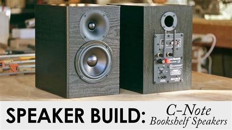 c note bookshelf speakers kit build built in wifi