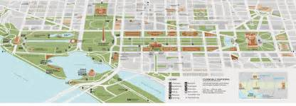 map of the mall of d c in 4 hours walking the national mall
