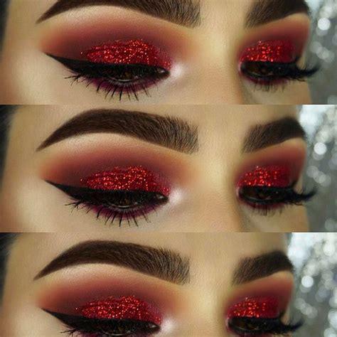 Eyeshadow Inez No 5 as 25 melhores ideias de eyeshadow makeup no sombra para olhos vermelha