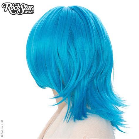 sky blue cosplay wigs cosplay wigs usa boy cut shag aqua sky blue 00300