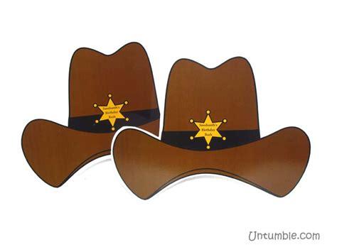 themed hats hats cowboy theme untumble