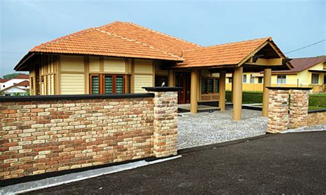 house design ideas bungalow old clay bricks modern bungalow house designs philippines