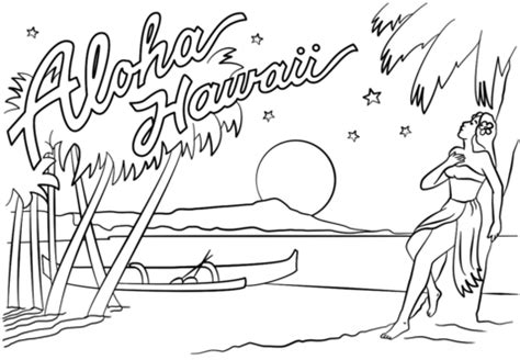 hawaiian boy pages coloring pages aloha hawaii coloring page free printable coloring pages