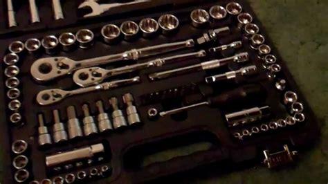 halfords  piece professional socket  spanner set