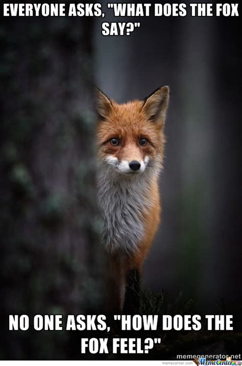 What Did The Fox Say Meme - what does the fox say by alphabubba meme center