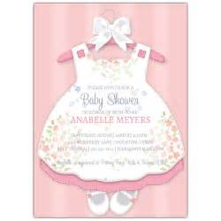baby dress invitations paperstyle