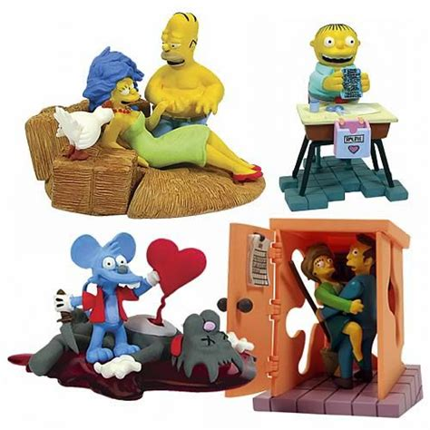 Simpsons Busts Out by The Simpsons Bust Ups Valentines Series Gentle