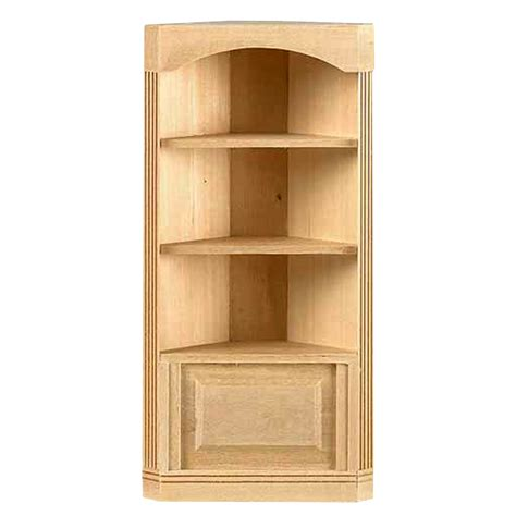 1 quot scale houseworks 3 shelf corner bookcase availabl at