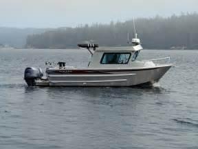 27 nitinat aluminum cabin boat by silver streak boats