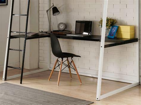 bureau d angle avec 騁ag鑽es lit mezzanine malicia 90x190 bureau option matelas