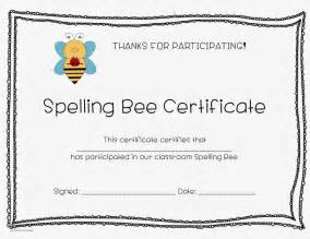Spelling Bee Award Certificate Template by Spelling Bee Certificate New Calendar Template Site