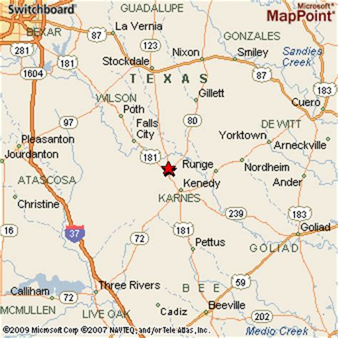 karnes city texas map karnes city texas