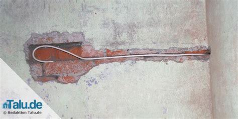Stromkabel In Wand Verlegen by Fernsehkabel Antennenkabel Verlegen Und Clever