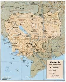 Cambodia World Map by Free Cambodia Maps