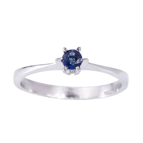 klenota silver ring with blue sapphire sapphire rings