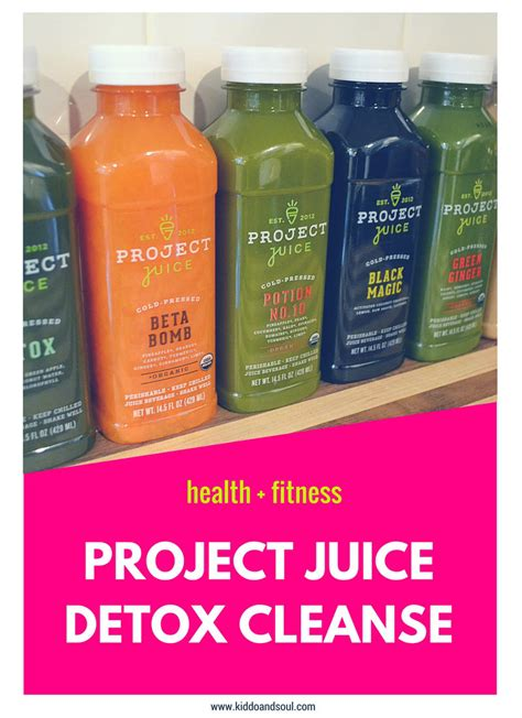 Detox Project Box by A Project Juice Detox Cleanse Kiddo Soul
