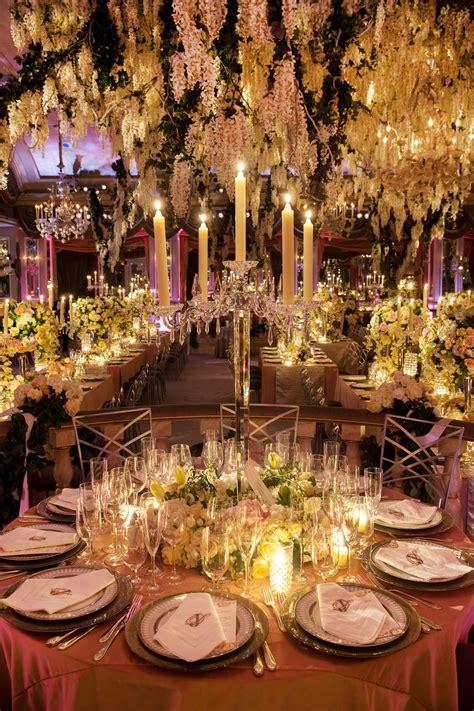 glamorous indoor garden wedding   york city