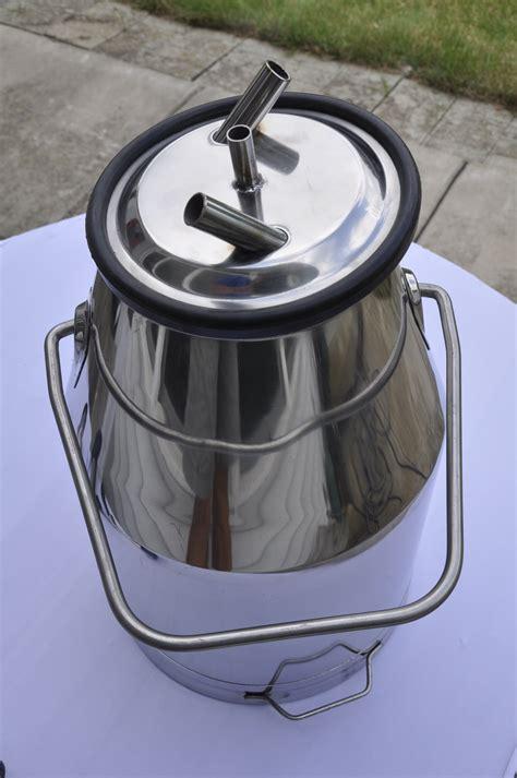 Milk Jug Stainless Steel Rubber Milk Jug Stainless Steel Dengan Kare seamless stainless steel milker pail jug 25 liter