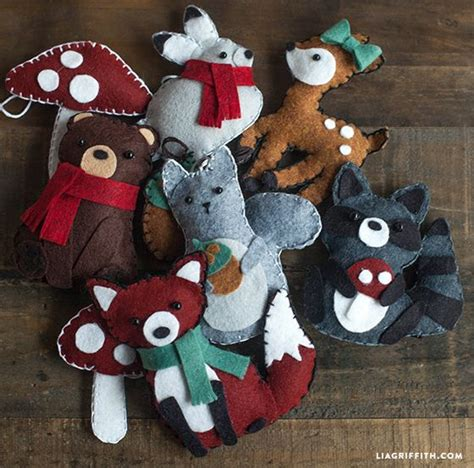 pattern for felt animals fox animal felt ornament felt fox patterns and the