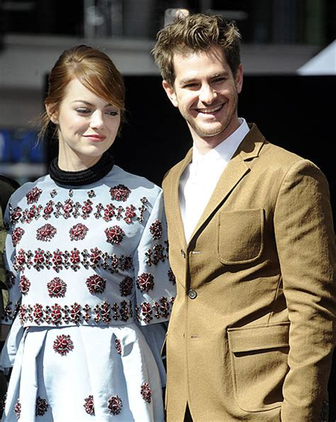 emma stone engaged are emma stone and andrew garfield breaking up ok