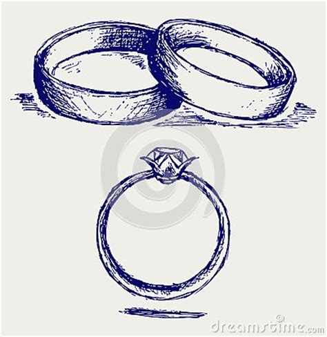 doodlebug rengøring wedding rings stock images image 26513734
