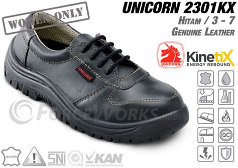Sepatu Safety Wanita safety shoes unicorn 2301 kx series