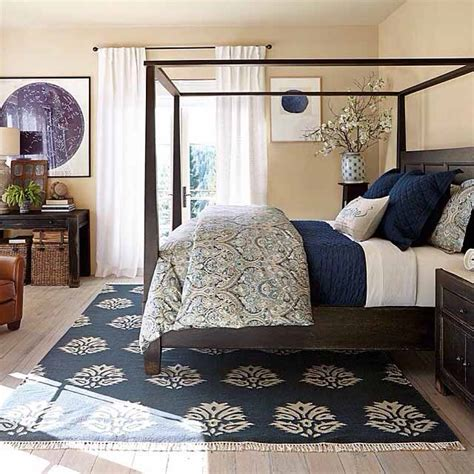 creative custom master bedroom design with navy blue and 5 ingredients for a beautifully made bed bedrooms