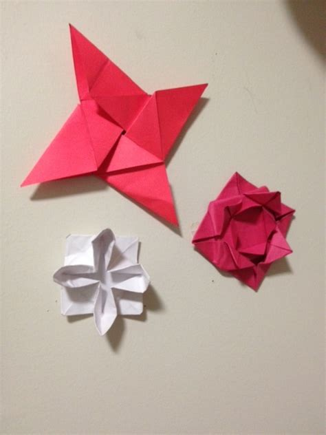 Decorations Origami Folding - origami wall decorations by mymy202 on deviantart