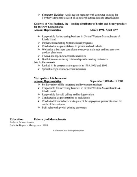 field or area of achievement in a resume call center
