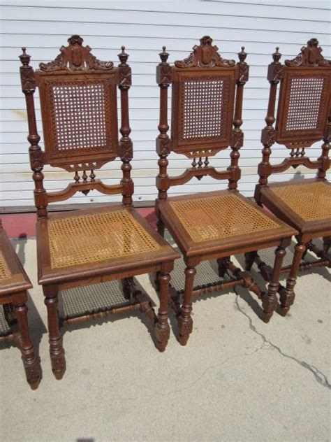 set of 6 antique dining room chairs antique