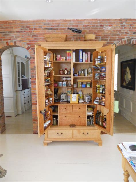 Armoire In Kitchen by Custom Kitchen Pantry Cabinet By Jeff Koopus Cabinet And