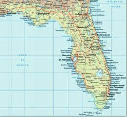 Florida Map East Coast by East Coast Of Florida
