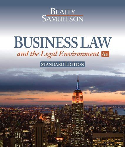 business and the environment standard edition