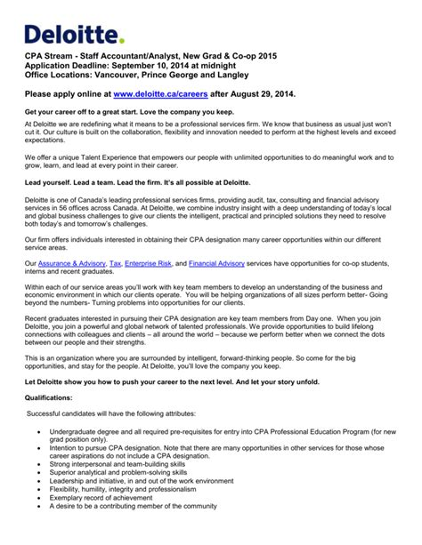 Deloitte Canada Mba Internship by Data Analyst In Deloitte Resume Best Resume