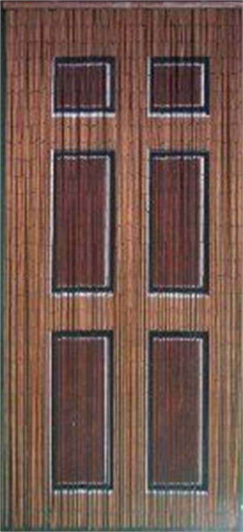 Beaded Curtain Painted To Look Like Door Home