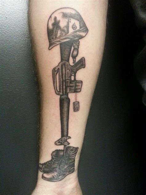 fallen soldier tattoo 10 best images about memorial on sale