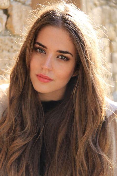 women from spain hair spanish model clara alonso hair makeup hair