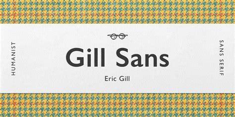 gill sans font   fonts