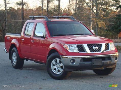 red nissan frontier 2005 aztec red nissan frontier nismo crew cab 22558998