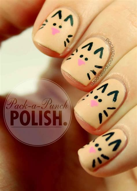 easy nail art daily motion simple animal nail designs www pixshark com images