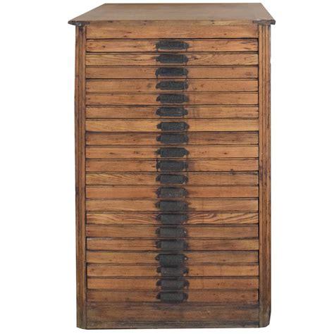 hamilton flat file cabinet at 1stdibs