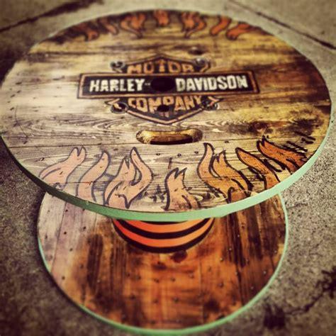 Harley Davidson Table by Harley Davidson Spool Table Harley Davidson Ideas