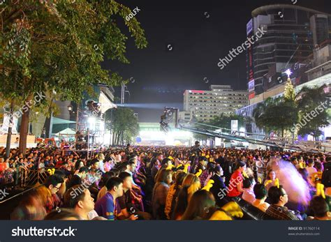 new year in thailand bangkok thailand december 31 happy new stock photo