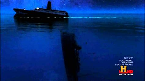 Titanic Sinking Simulation by Titanic New Sinking Theory History Channel Simulation