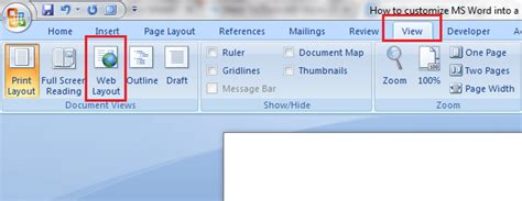 print web layout word how to make microsoft word into a minimalist word