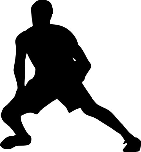silhouette background 19 basketball player silhouette png transparent