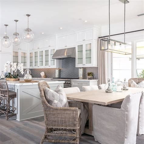 modern farmhouse kitchen lighting grey white modern farmhouse kitchen dining nook